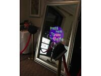 MAGIC MIRROR BOOTH & PHOTO BOOTH HIRE SPECIAL OFFER £179