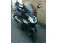 2013 Sym GTSi 125cc black