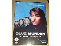 Blue murder series 1-4 DVD box set