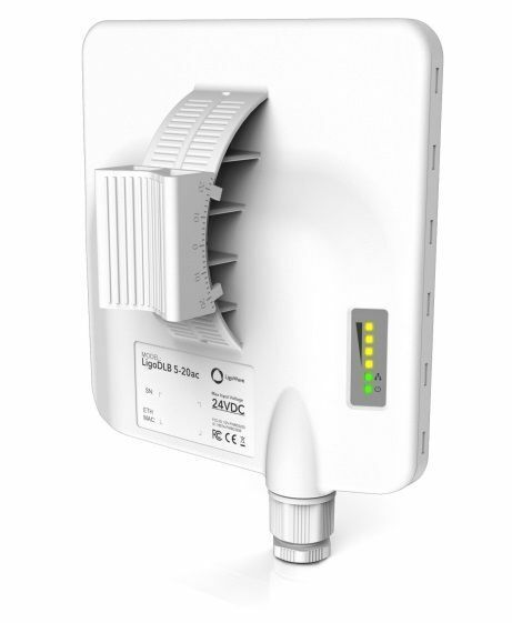 LigoWave LigoDLB 5-20AC 5Ghz MIMO 2x2 AP/CPE Outdoor Integrated 2x20dbi Antenna