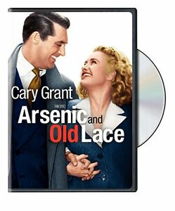 ARSENIC AND OLD LACE DVD Cary Grant Frank Capra
