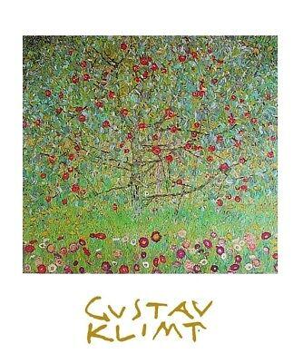Gustav Klimt Apfelbaum Poster Kunstdruck Bild 30x24cm - Germanposters