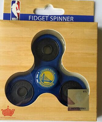 Golden State Warriors Basketball Team Logo NBA 3 Way Prong Hand Fidget -