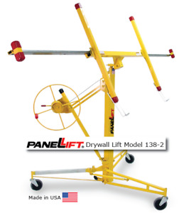 Panellift Drywall Lift Model 138-2 by Telpro Inc.