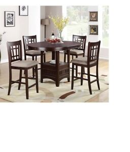 Infini Furnishings 5 Piece Counter Height Dining Set 19900