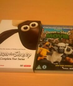 Shaun the Sheep dvds
