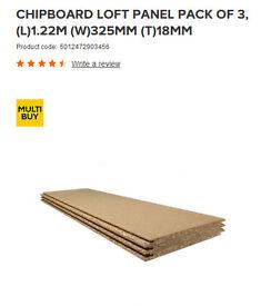 Loft Panels - 5 x 3 pack (B&Q)