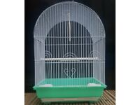 BRAND NEW White Bird Cages For Sale [Suitable for Budgies/Lovebirds/Parrotlets/Finches/Canaries/Etc]