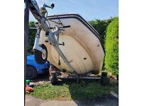 Galvanised boat road trailer dingy kayak rib sailing