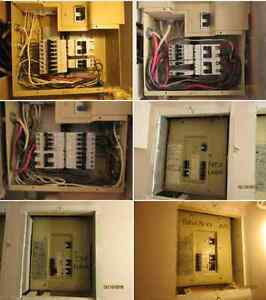 I need some help in wire switching in the electric panels Windsor Region Ontario image 1