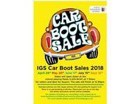 IGS Car Boot Sales 2018