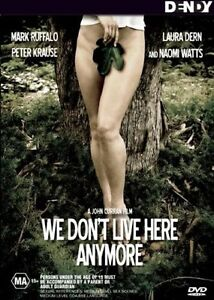 WE DON'T LIVE HERE ANYMORE..NAOMI WATTS..MARK RUFFALO. R4...NEW & SEALED  d1798