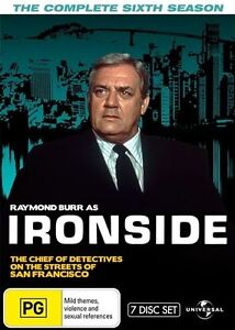 Ironside : Season 6 (DVD, 2014, 7-Disc Set) (Fatpack) - Region 4