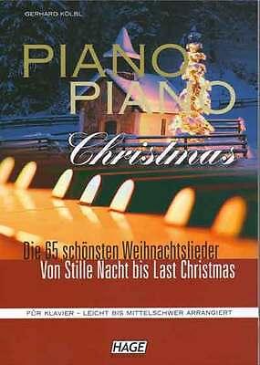Piano Piano Christmas Die 65 schönsten Weihnachtslieder leicht bis mittelschwer