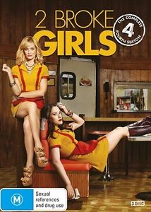 2 Broke Girls : SEASON 4 : NEW DVD