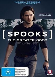 [SPOOKS] : The Greater Good : NEW DVD