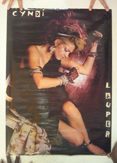 Cyndi Lauper Poster Cindy Lauper Vintage