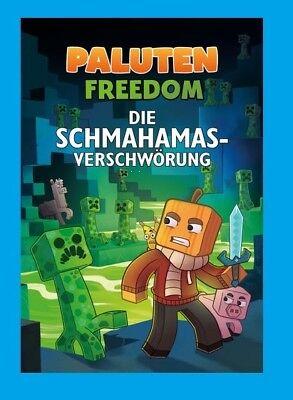Paluten. Die Schmahamas-Verschwörung. Roman Minecraft Freedom. NEU! Ab 29.3.2018
