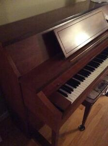 Piano by Gerhard Heintzman upright