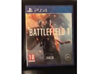 BATTLEFIELD 1 - PS4 - Brand New & Sealed