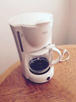 Beautiful 10 Cup White Coffee Maker