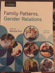 Family patterns gender relations by Bonnie Fox