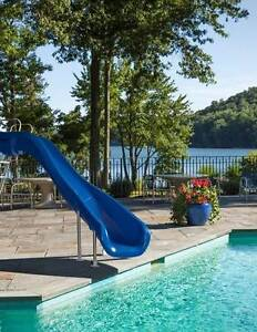 Pool Slide Rouge 2 - Blue, GET IN QUICK!!  LAST ONE!!!  RRP $4700 O'Connor Fremantle Area Preview