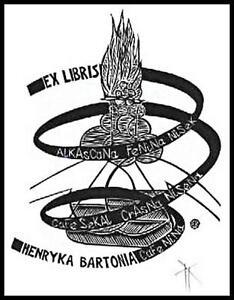 Kmiec Krzysztof X3 Exlibris 2000 Bookplate 1204 - Dabrowa Bialostocka, Polska - Kmiec Krzysztof X3 Exlibris 2000 Bookplate 1204 - Dabrowa Bialostocka, Polska