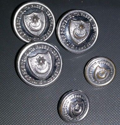 City Of Portsmouth Passenger Transport Buttons