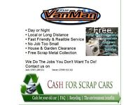 Wanted scrap metal free collection and scrap cars for cash