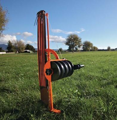 Gallagher Smartfence Portable Electric Fence System For Animal Livestock Grazing