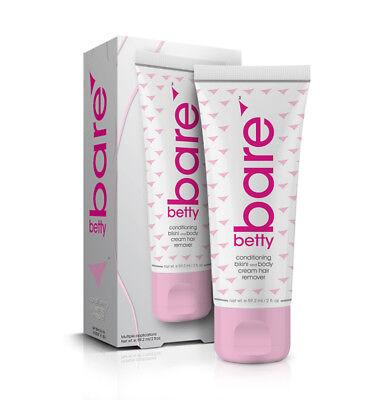 Betty Bare Bikini & Body Cream Hair Remover 2 oz.