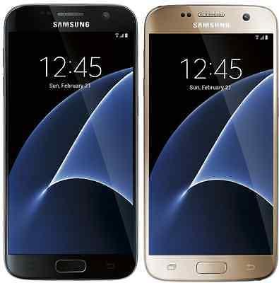 Samsung Galaxy S7 SM-G930A - 32GB AT&T (Unlocked) Smartphone - Black Gold