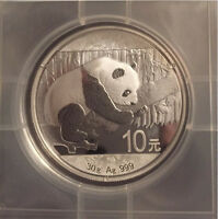 Brand new uncirculated Silver Bullion coins.  Maples, Panda, etc