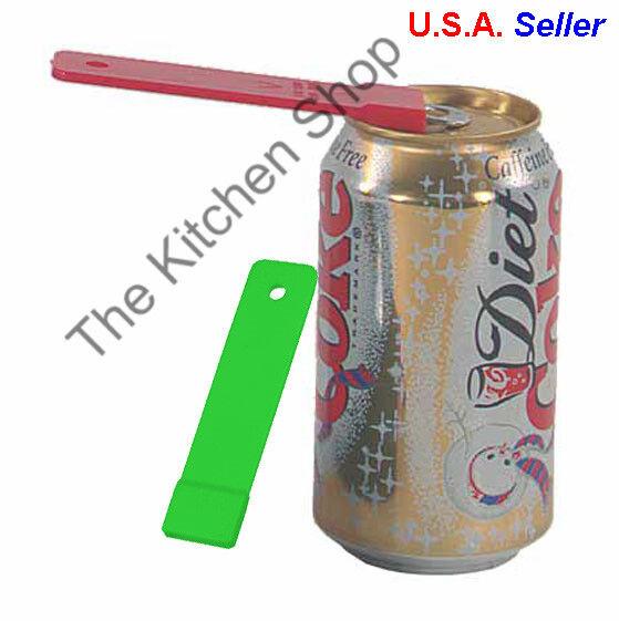 Soda Can Tab Opener Set of  Beer Ring Top Drink Beverage Lif