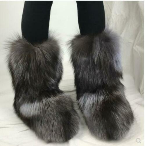Women real fox fur decoratiom military ankle boots genuine leather fall autumn winter women snow boots hand made sneaker boots