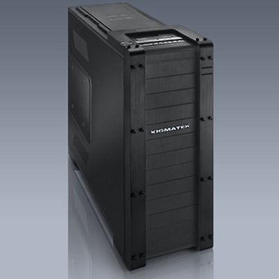 Xigmatek Elysium Black Server Edition All Black Aluminum/Steel Super Tower Case