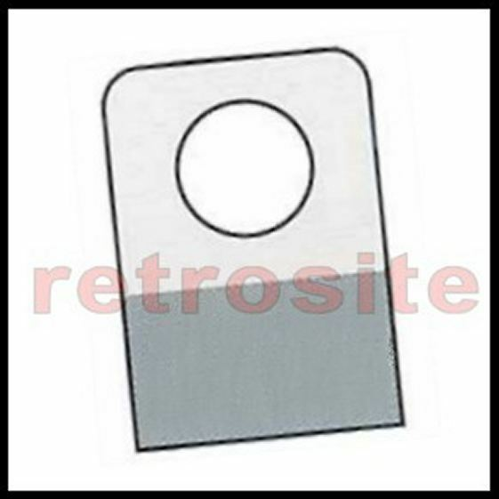 800 Self-Stick Clear Plastic Hang Tabs Tags Round Hole Adhesive Package Hangers