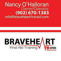 Canadian Red Cross First Aid Course Yarmouth July 4+5