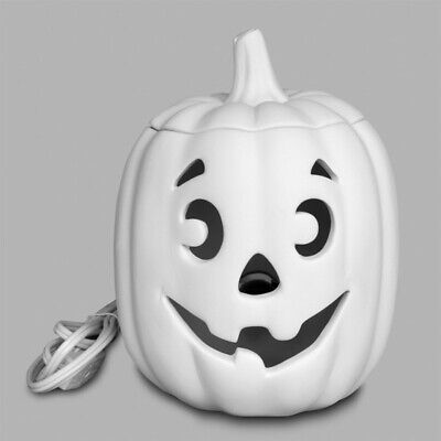 HALLOWEEN Jack O'Lantern w/ Light Kit Med Ceramic Bisque Ready to Paint Pottery