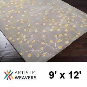 NEW ARTISTIC WEAVERS ARROYO RUG - 134539523 - GRAY WOOL AREA RUGS CARPET CARPETS FLOORING DECOR ACCENTS MAT MATS PAD ...