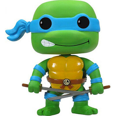 Ninja Turtles Pop (FUNKO POP TMNT Ninja Turtles Leonardo SOFT VINYL BOBBLEHEAD ACTION FIGURE NEW)