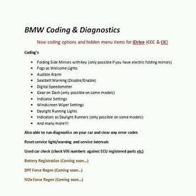 BMW coding and diagnostics London