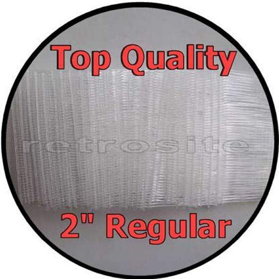 """1000 CLEAR Price Tag Tagging Gun 2"""" (2 Inch) REGULAR Barbs Fasteners TOP QUALITY"""