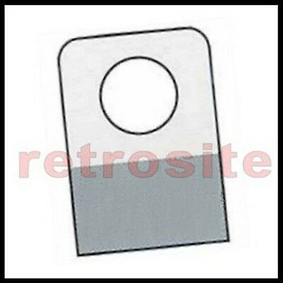 400 Self-stick Clear Plastic Hang Tabs Tags Round Hole Adhesive Package Hangers