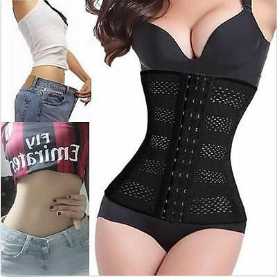 Women Body Shaper Slimming Waist Trainer Cincher Underbust Corset Belt Shapewear