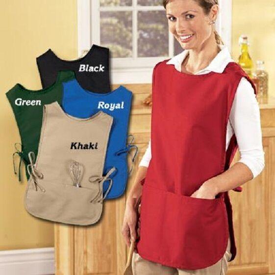 adult cobbler apron 2 pockets original new
