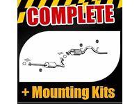 Honda Hrv full cat back exhaust system. Brand new in box