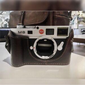 Leica M8 (with Luigi Half-Case)