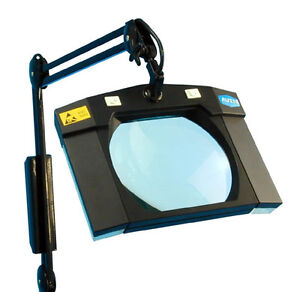 Aven Esd Safe Magnifying Desk Clamp Light Magnifier Ebay